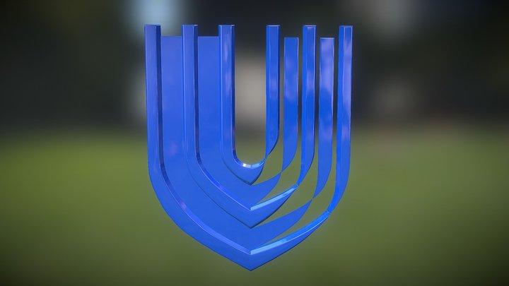Duke University School of Nursing Logo 3D Model