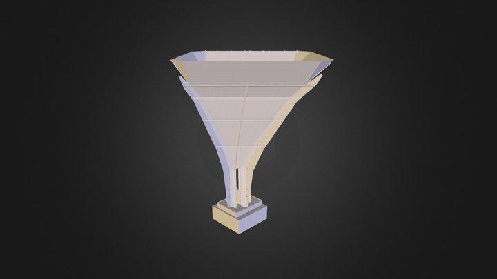 steel_tree_3DS 3D Model