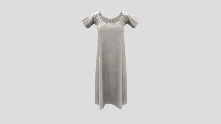 Early 19th Century Chemise 3D Model