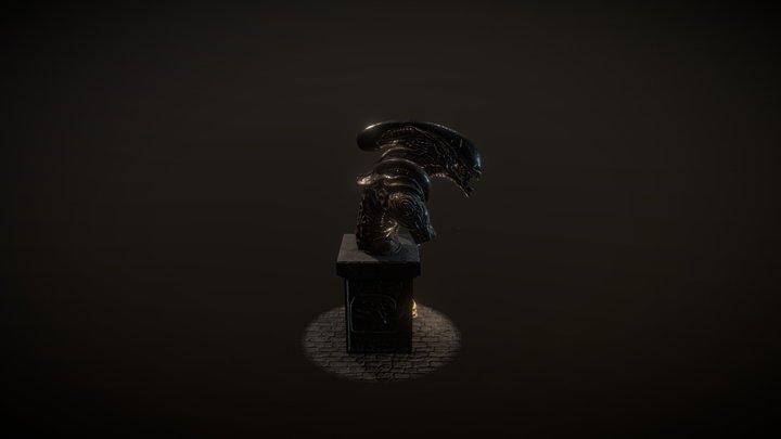 Xenomorph Runner From Pressure test of AIV 3D Model