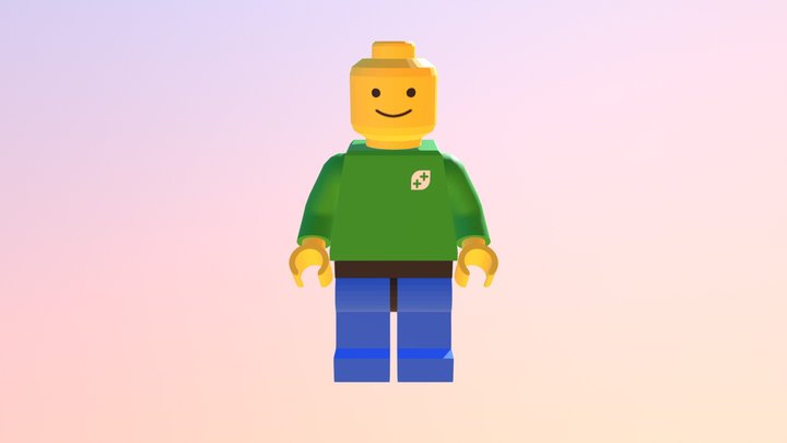 Lego Minifigure - Clothed! 3D Model