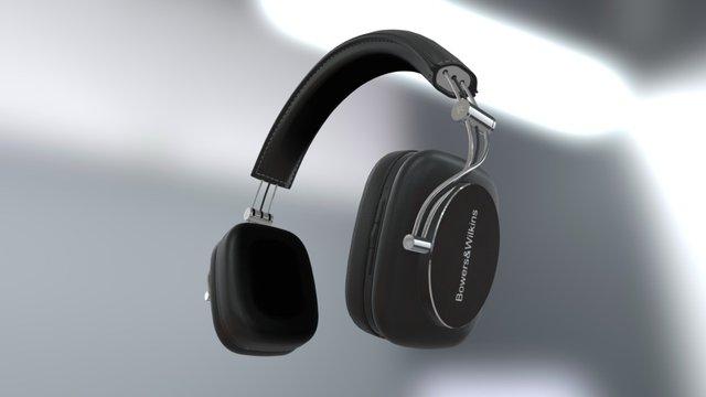 Bowers&Wilkins P7 Wireless Headphones 3D Model