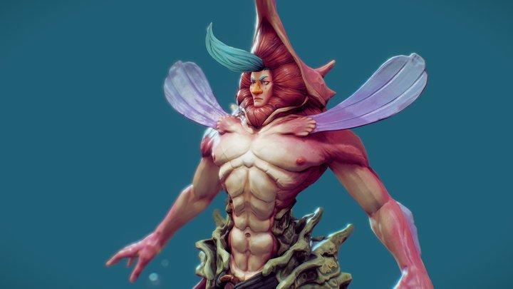 Seahorse Prince of Hythermis - Storse 3D Model