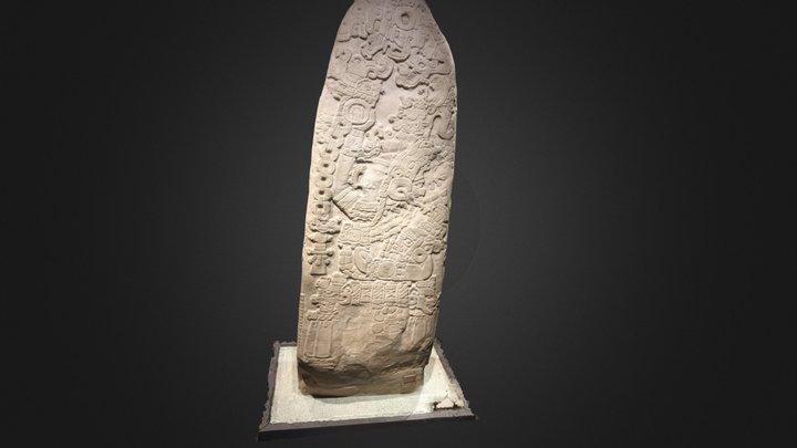 Tikal. Estela 31 3D Model