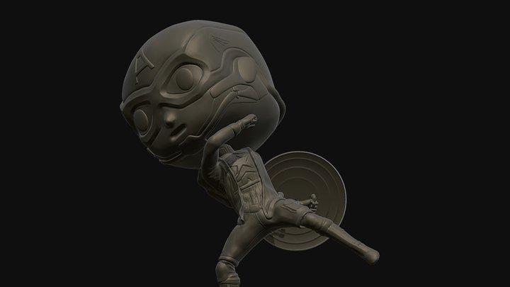 Captain America 3D printing 3D Model