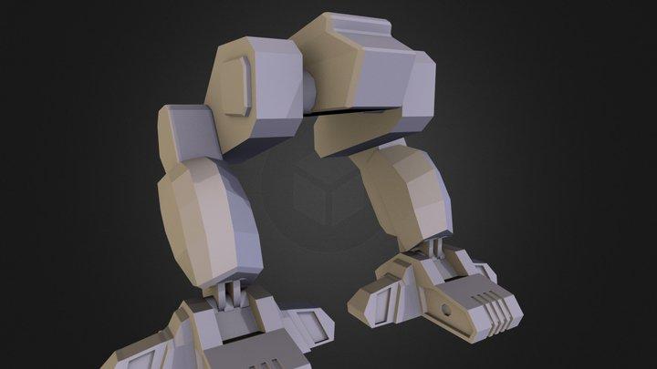 Mech Legs 3D Model