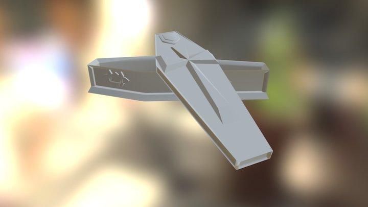 Easy Coffin Model Redo 3D Model
