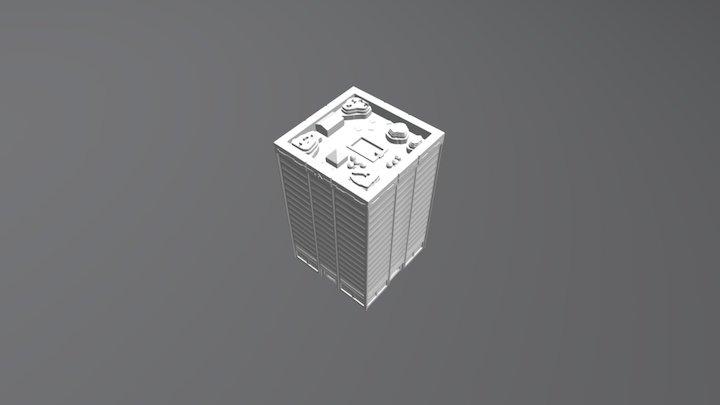 High Rise 2 3D Model