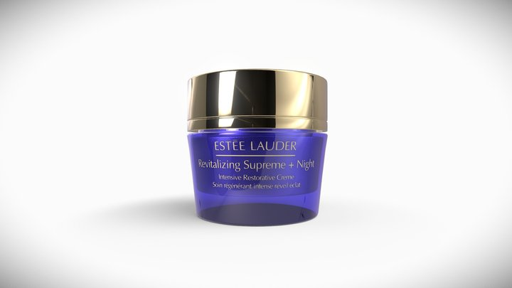 Estée Lauder - Revitalizing Supreme+ Night 3D Model