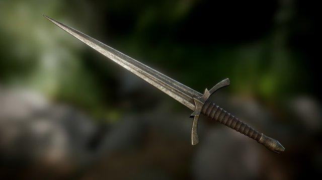 Morgul Blade 3D Model