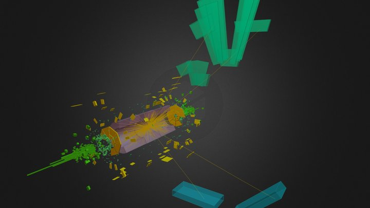 CERN ATLAS Experiment - Higgs Boson discovery 3D Model