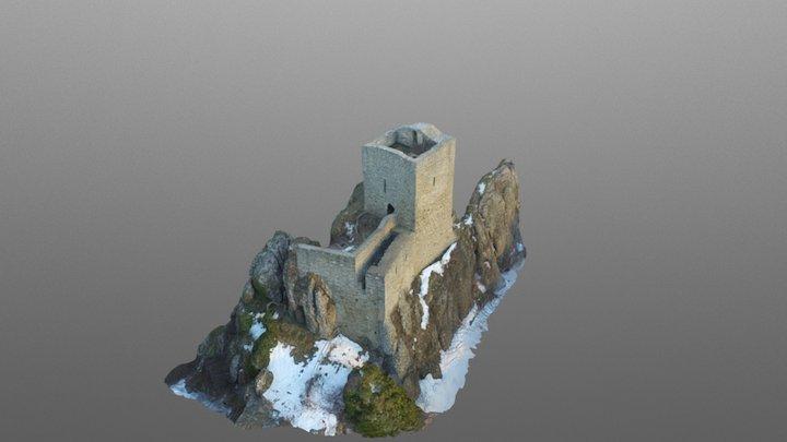 Pietrarubbia 3D Model