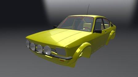 Opel Kadett C GTE 1978 (WIP) 3D Model