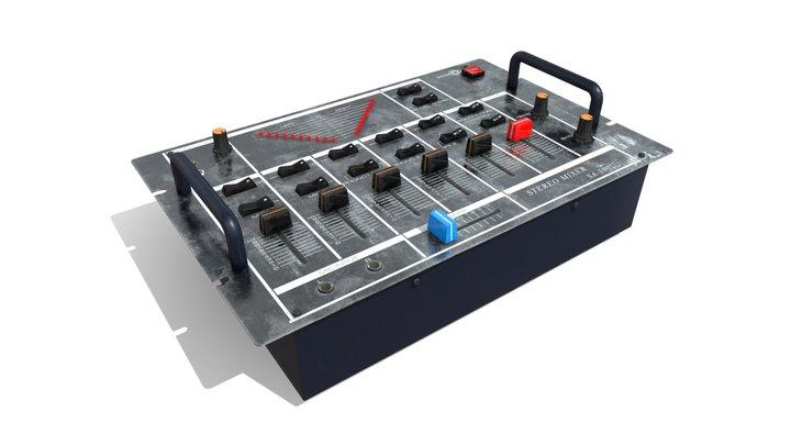 Stereo Mixer (Soundcraft SA-100) 3D Model