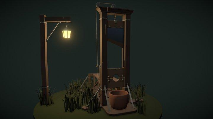 Homework 7 (guillotine) 3D Model