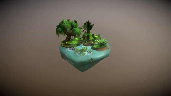 Practice_Island 3D Model