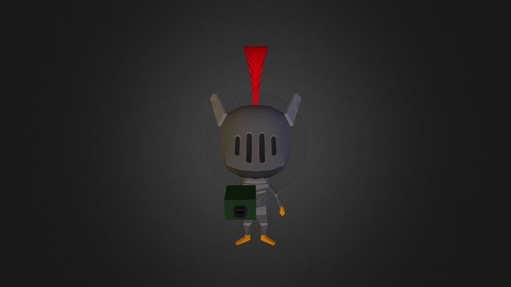 Bareth Knight 3D Model