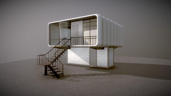 Experimental Plastic House 3D Model