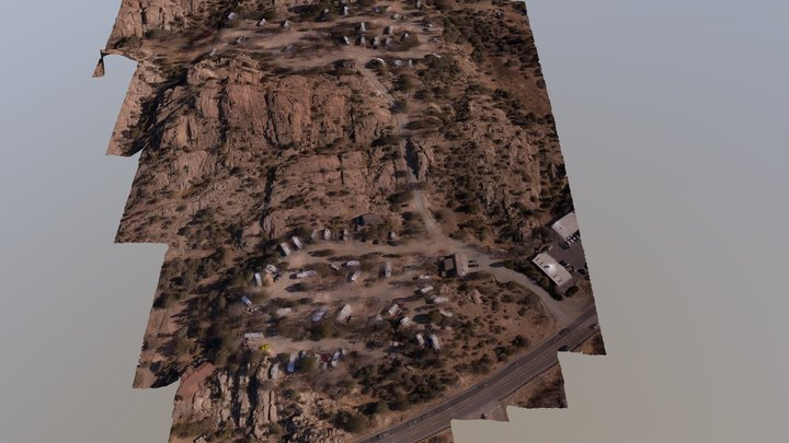 Point of Rocks RV Campground 3D Model