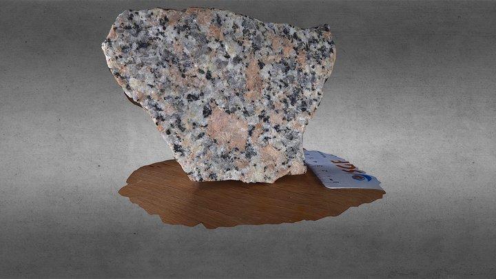 Alkaline Granite 3D Model