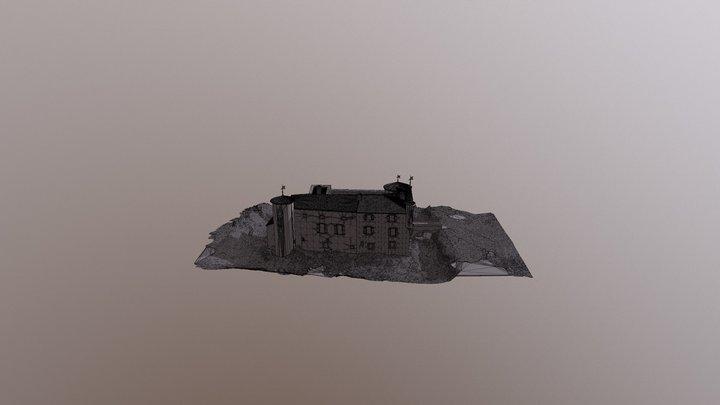 Château de Montfa - Tarn 3D Model