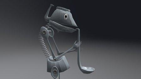 Metal - Coff 3D Model