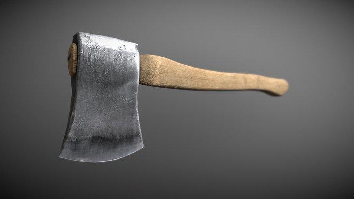 A Simple Axe 3D Model