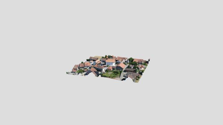 Pueblo Suizo 3D Model