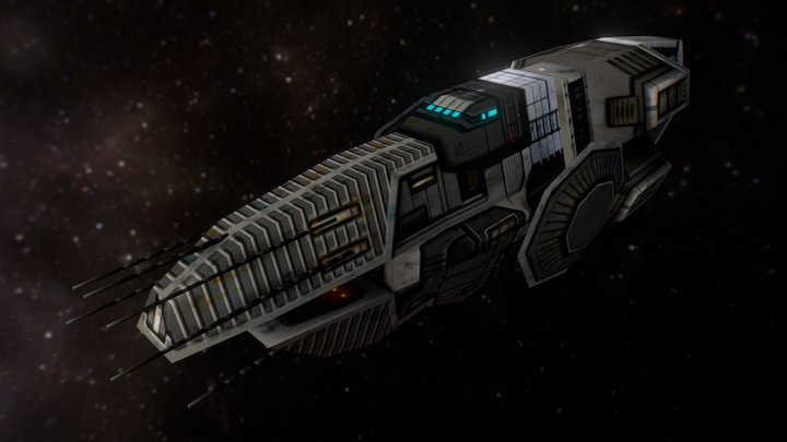 Ulhdt Destroyer 3D Model