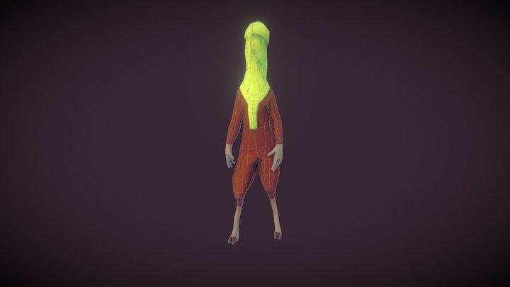 Animation - Idle - Azalaï 3D Model
