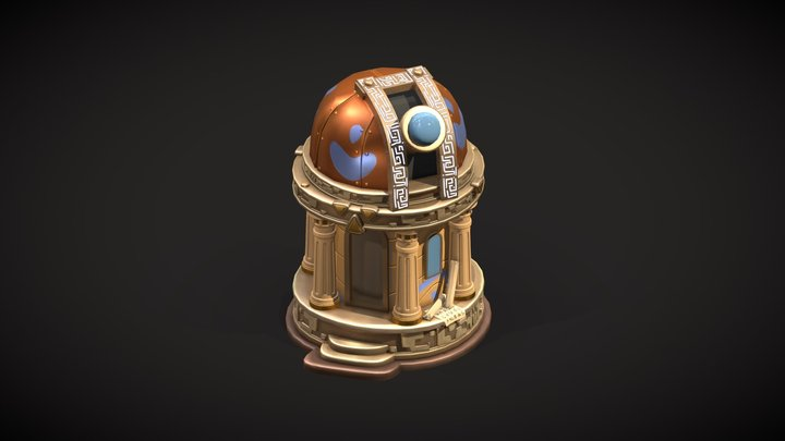 Atlantis Observatory 3D Model