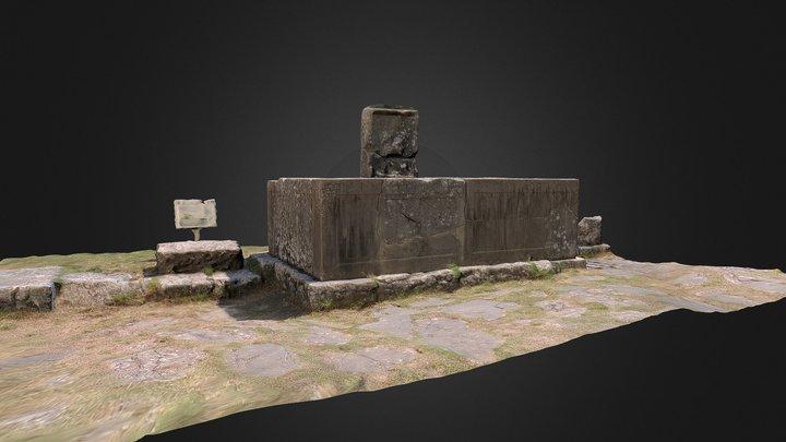 Fontana del Grifo - Sepino (CB) 3D Model