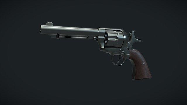 Colt 45 Peacemaker 3D Model