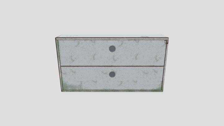 cabinet_low_02 3D Model