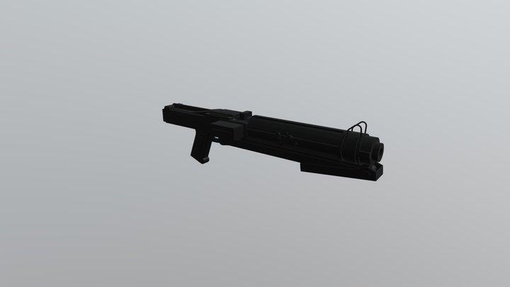 Clone Blaster Rifle: DC-15s 3D Model