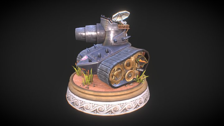 The SpaTank - 'Pressure Overdrive' 3D Model
