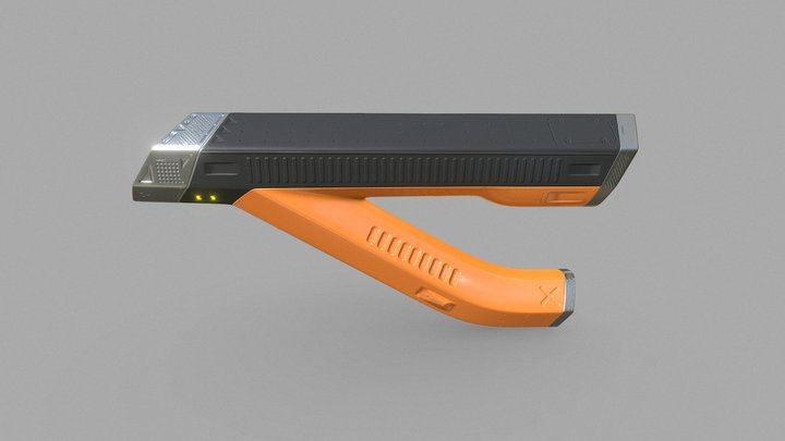 Sci-Fi Sustainable Energy Thingy 3D Model