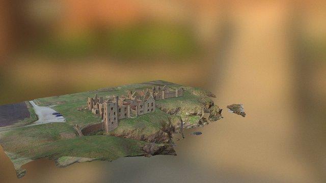 Slains Castle, Scotland 3D Model