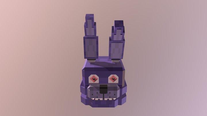 Mineteria - Bonnie - FNAF 3D Model