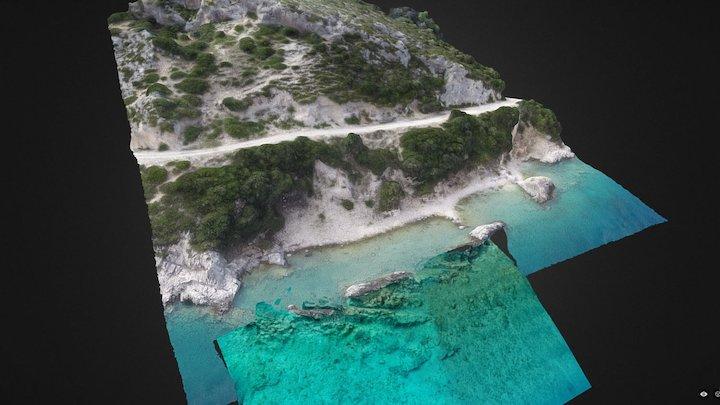Oricum 2016 - Ancient quarries multilayer 3D Model