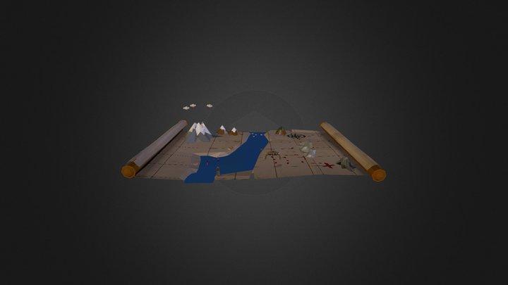 Pirate living map 3D Model