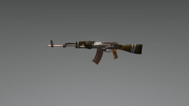 Ak 47 (build) 3D Model