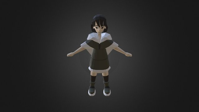 Set in Stone - Kid Character 3D Model