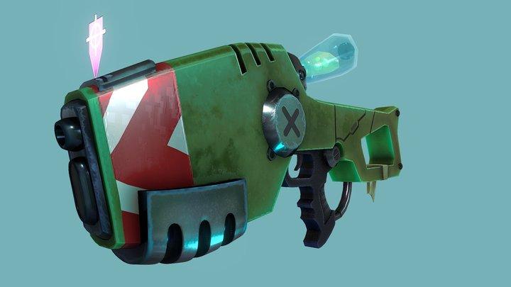 AG-d37 Sci-Fi Gun 3D Model