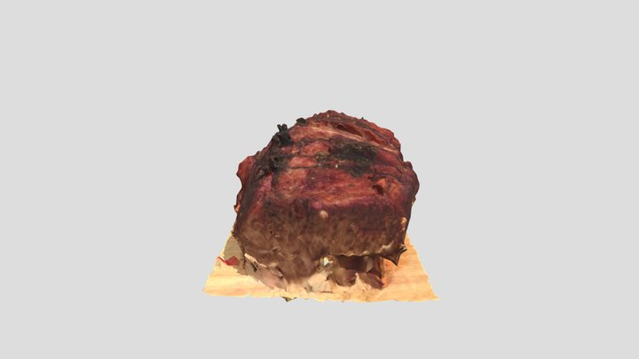 Roast Beef 3D Model