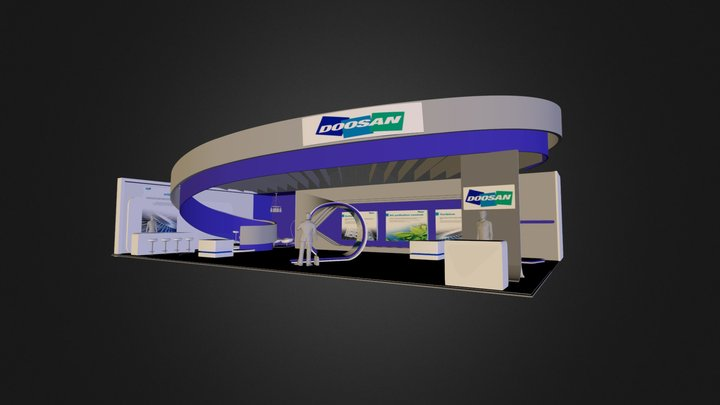 OXCOMPE 3D View Sample. 3D Model