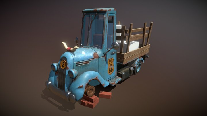 Pickup 3D Model