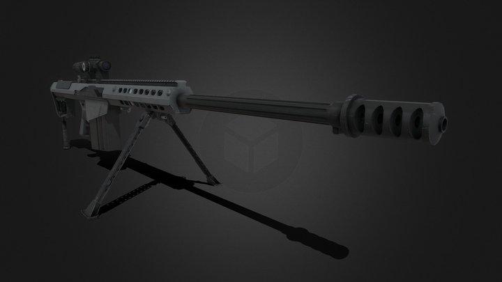 M107A1 3D Model