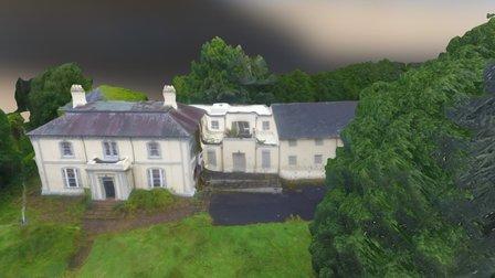 Fernhill House Model 3D Model