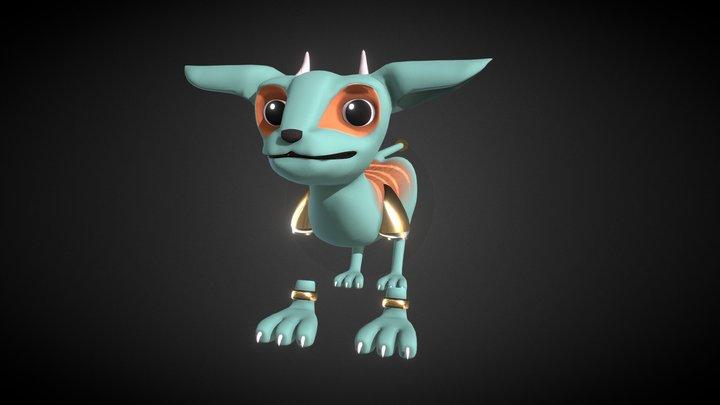 Monster Child (v.2) 3D Model